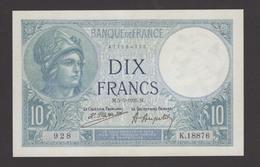 France, 10 Francs- 5-5-1925. AUNC. - 1871-1952 Frühe Francs Des 20. Jh.