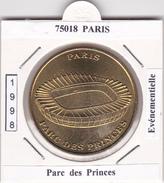 75016  PARIS -     PARC  DES PRINCES  1998 - Undated