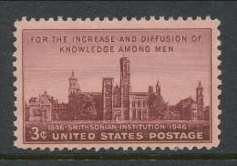 USA 1946 Scott 943, Smithsonian Institution, MNH ** - Verenigde Staten