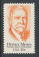 USA 1984 Scott  #  2095. Horace Moses (1862-1947), MNH (**). - Nuevos