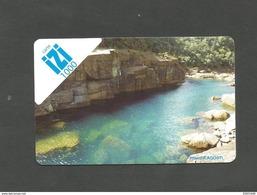Recharge  IZI   1000cfp    Paysage    (claswallinoi) - Nouvelle-Calédonie