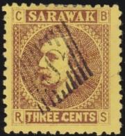 Sarawak     .       SG     .      2a    .         O       .          Gebruikt   .    /    .   Cancelled - Sarawak (...-1963)