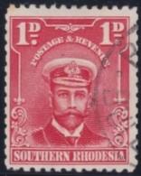 Southern  Rhodesia   .    SG     .     2c   P. 12 1/2    .     O       .      Gebruikt   .    /    .   Cancelled - Zuid-Rhodesië (...-1964)