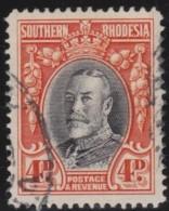 Southern  Rhodesia   .    SG     .     19b   P.  14     .     O       .      Gebruikt   .    /    .   Cancelled - Zuid-Rhodesië (...-1964)