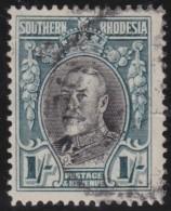 Southern  Rhodesia   .    SG     .     23b   P.  14     .     O       .      Gebruikt   .    /    .   Cancelled - Zuid-Rhodesië (...-1964)