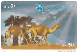 QATAR - Camels, Used