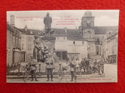 St DIE PLACE JULES FERRY CYCLISTES - Saint Die
