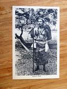 CPA SAMOA , Samoan Chief, In 1925 - Samoa