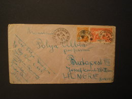 FOREIGN LEGION 1931 Cover From Hungarian Foreign Legion Soldier To Hungary, Bearing 4c (SG 122) & 6c On 90c (SG 161) - Indochina (1889-1945)