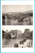 MARBURG ( Maribor ) - DESTROYED BRIDGE ( Slovenia ) * GERMAN OCCUPATION - Travelled 1941.* Pont Puente Brucke Ponte Brug - Slovenia