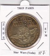 75019  PARIS -   LA  CITE DES SCIENCES  N°7  - STAR WARS  EXPO   MAITRE YODA  -  2005 - 2005