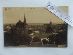 Liege, Panorama (les Eglises St. Jean Et St. Paul), Gel. 1918 - Liege