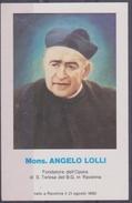 Santino - Mons. Angelo Lolli - Santini