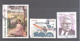 France Oblitérés N°5073 - 5085 & Frédéric Bazille (Cachet Rond)