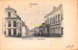 CPA HARELBEKE HARLEBEKE RUE DE GAND GENTSTRAAT - Harelbeke