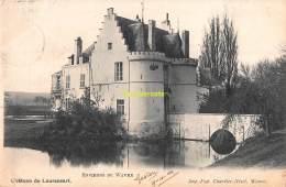 CPA  ENVIRONS DE WAVRE CHATEAU DE LAURENSART - Wavre