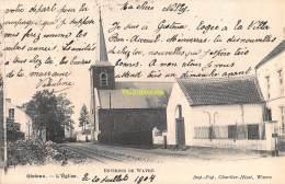 CPA  ENVIRONS DE WAVRE  GISTOUX  L'EGLISE - Chaumont-Gistoux