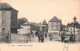 CPA  HALLE HAL ENTREE DE LA VILLE - Halle