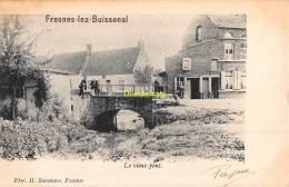 CPA  FRASNES LEZ BUISSENAL LE VIEUX PONT - Frasnes-lez-Anvaing