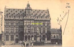 CPA  HALLE HAL  L'HOTEL DE VILLE  NELS SERIE 69 NO 21 - Halle