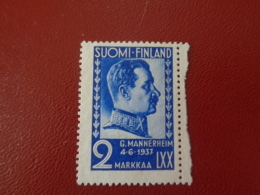 Finlande 1937 N°195 Neuf* (charnière)