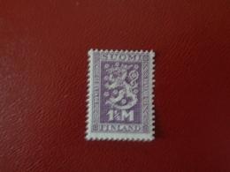 Finlande 1927 N°122 Neuf* (charnière)