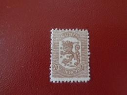 Finlande 1918 N°88 Neuf* (charnière)