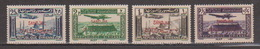 Turkey,Sandjak Alexandrette&Hatay,Syria,Air.10/11/1938/,/0,50p.+1p.+2p.+25p. 4 Stamps,MNH. - 1934-39 Sandjak Alexandrette & Hatay