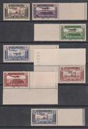 Turkey,Sandjak Alexandrette&Hatay,Syria,Air.10/11/1938/,/0,50+1+2+3+10+15+25p. 7 Stamps,MNH. - 1934-39 Sandjak Alexandrette & Hatay