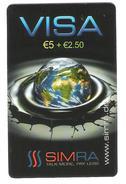 Germany - Calling Card - Prepaid Card - Simra - Planet Earth - Germany