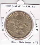 77  SEINE ET MARNE  -  MARNE LA VALLEE -  DISNEY N°3  -  MAIN  STREET   -  2008 - 2008
