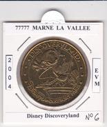 77  SEINE ET MARNE  -  MARNE LA VALLEE -  DISNEY N°6  - DISCOVERYLAND    -  2004 - 2004
