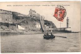 -22- ------------  SAINT BRIEUC  La Pointe à L'Aigle Phare Du Légué Hotel Terminus - TTB - Saint-Brieuc