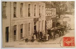 62 . HESDIN . Hôtel De La Girafe -- Flament  Descamp Propriétaires