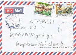 Senegal 2016 Kedougou Antilope WWI Great War Cover - Senegal (1960-...)