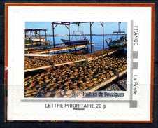 """LES HUITRES DE BOUZIGUES .  Adhésif Neuf ** . Collector """" LANGUEDOC - ROUSSILLON """"  2010 - France"""