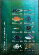 Faroe Islands, 2006, Mi. 547-56, Sc. 470, SG 496-505, Fishes, MNH - Fishes