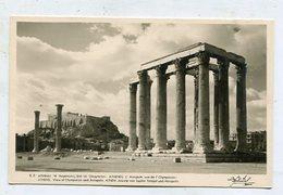 GREECE - AK297106 Athens - View Of The Olypieion And Acropolis - Grèce