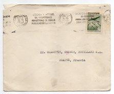 Argentine -lettre De BUENOS-AIRES Pour ROANNE-42- (France) - Timbre Avion Seul Sur Lettre--cachet - Argentine
