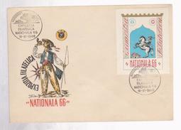PHILATELIC EXHIBITIONS  ROMANIA COVER SPECIAL NATIONAL PHILATELIC EXHIBITION 66 -ROMANIA - Tarjetas – Máximo