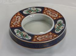 Japanese Ceramic Ashtray - Metal