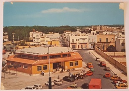 TRICASE (LECCE - SALENTO) - PIAZZA DEL MERCATO - Auto, Cars, Fiat 500 -  Nv - Lecce