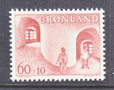 GREENLAND  B 3   ** - Unused Stamps