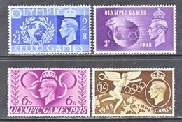 GREAT  BRITAIN  271-4   **   OLYMPICS  1948 - 1902-1951 (Kings)