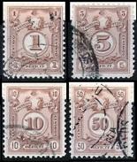 PERÚ-Yv. 44-47-Taxe -PER-7572 - Peru