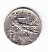 ITALIE KM 44, 20c, 1912 R. (3P56) - 1861-1946 : Royaume