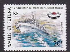 Wallis And Futuna 1992 La Garonne Ship MNH - Wallis And Futuna