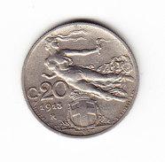 ITALIE KM 44, 20c, 1913R. (3P58) - 1861-1946 : Royaume