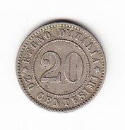 ITALIE KM 28.1, 1894KB, 20c. (3P59) - 1878-1900 : Umberto I