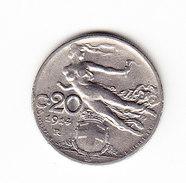 ITALIE KM 44, 1914R, 20c. (3P60) - 1861-1946 : Royaume
